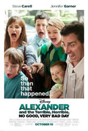 film Alexander and the Terrible, Horrible, No Good, Very Bad Day (2014)
