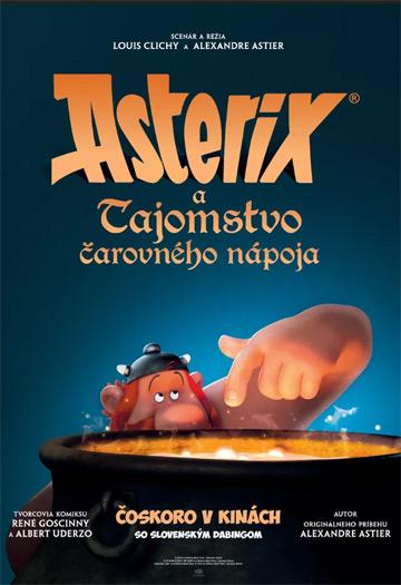 film Asterix a tajomsto čarovného nápoja (2018)