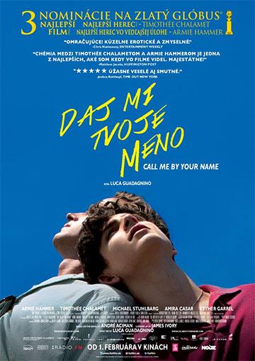 film Daj mi tvoje meno (2017)