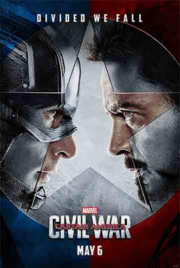 film Captain America: Občianska vojna (2016)