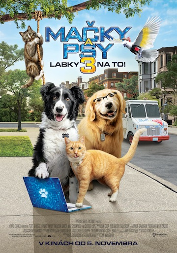 film Mačky a psy 3: Labky na to! (2020)