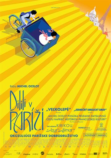 film Dilili v Paríži (2018)