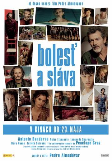 film Bolesť a sláva (2019)