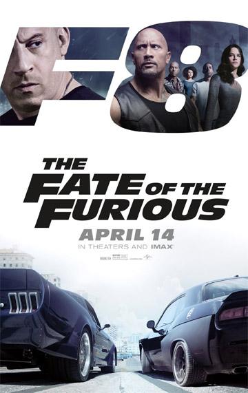 film Rýchlo a zbesilo 8 (2017)