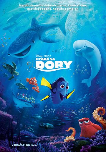 film Hľadá sa Dory (2016)