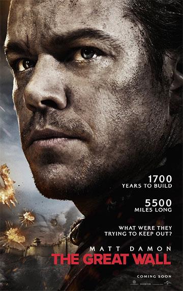film Veľký čínsky múr (2016)