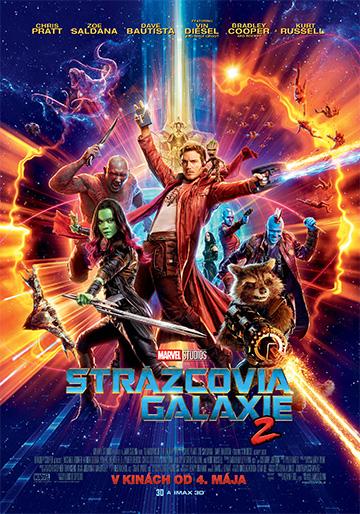 film Strážcovia Galaxie 2 (2017)