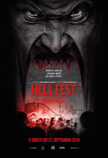 film Hell Fest: Park hrôzy (2018)