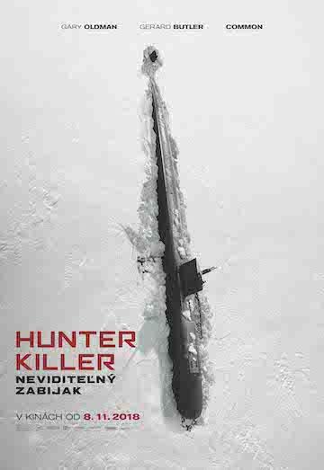 film Hunter Killer: Neviditeľný zabijak (2018)