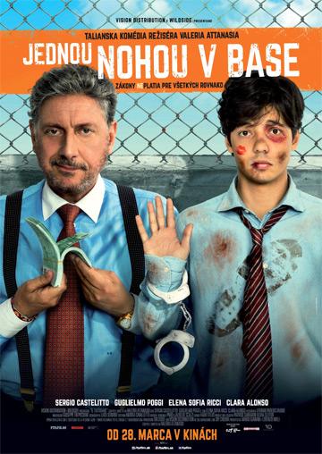 film Jednou nohou v base (2018)