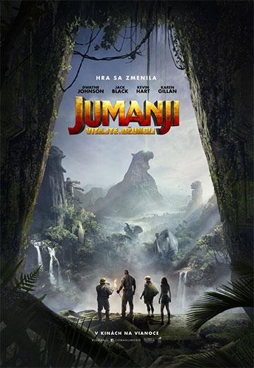film Jumanji: Vítajte v džungli (2017)