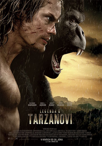 film Legenda o Tarzanovi (2016)