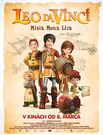 film Leo da Vinci: Misia Mona Líza (2018)