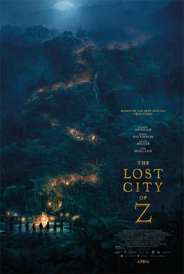 film Stratené mesto Z (2016)