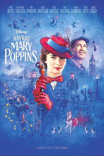 film Návrat Mary Poppins (2018)