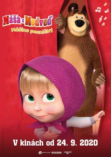 film Máša a medveď: Mášine pesničky (2020)