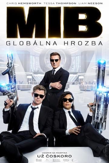 film Muži v čiernom: Globálna hrozba (2019)