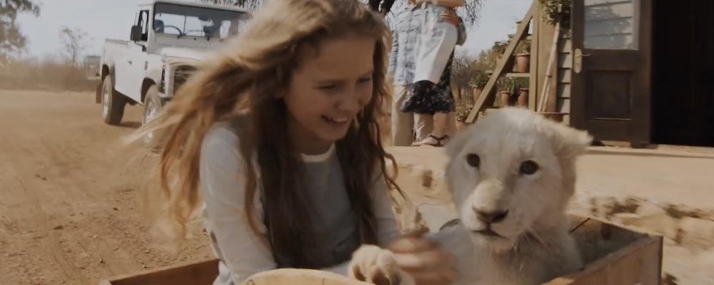 Film Mia a biely lev (2018)