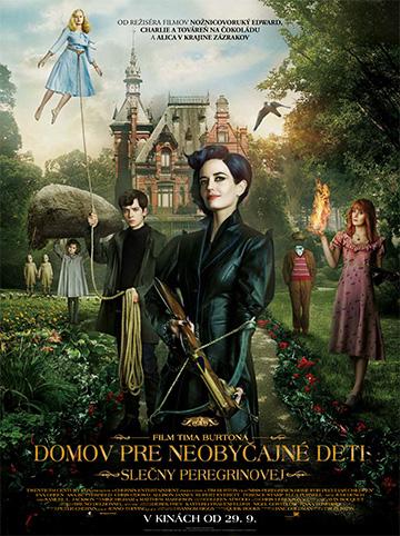 film Domov pre neobyčajné deti slečny Peregrinovej (2016)