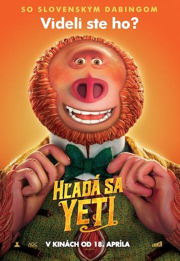 film Hľadá sa Yeti (2019)