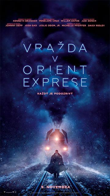 film Vražda v Orient exprese (2017)