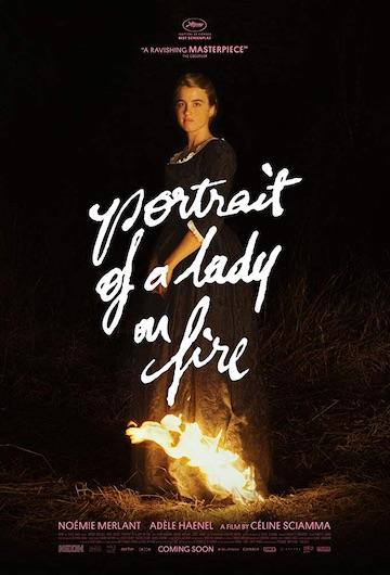 film Portrét ženy v plameňoch (2019)