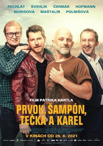 film Prvok, Šampón, Tečka a Karel (2021)