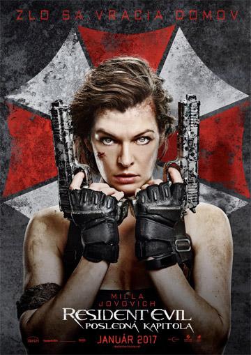 film Resident Evil: Posledná kapitola (2016)