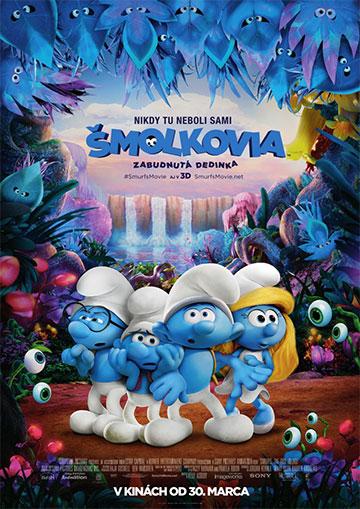 film Šmolkovia: Zabudnutá dedinka (2017)