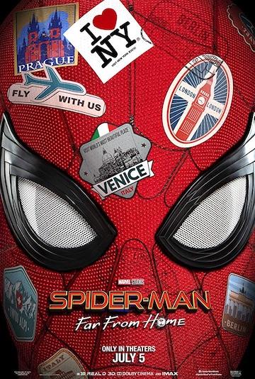 film Spider-man: Ďaleko od domova (2019)