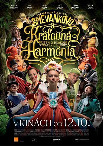 film Spievankovo a kráľovná Harmónia (2017)