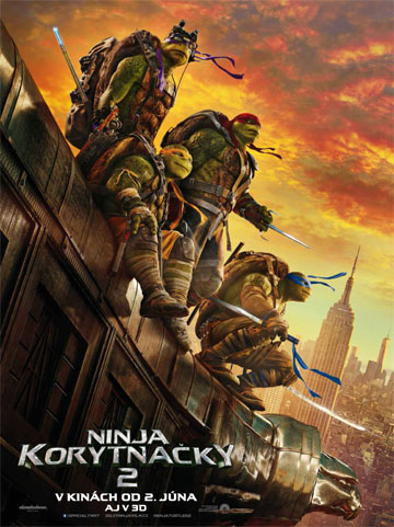 film Ninja korytnačky 2 (2016)
