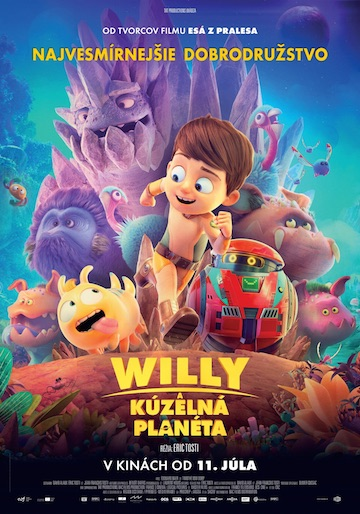 film Willy a kúzelná planéta (2019)