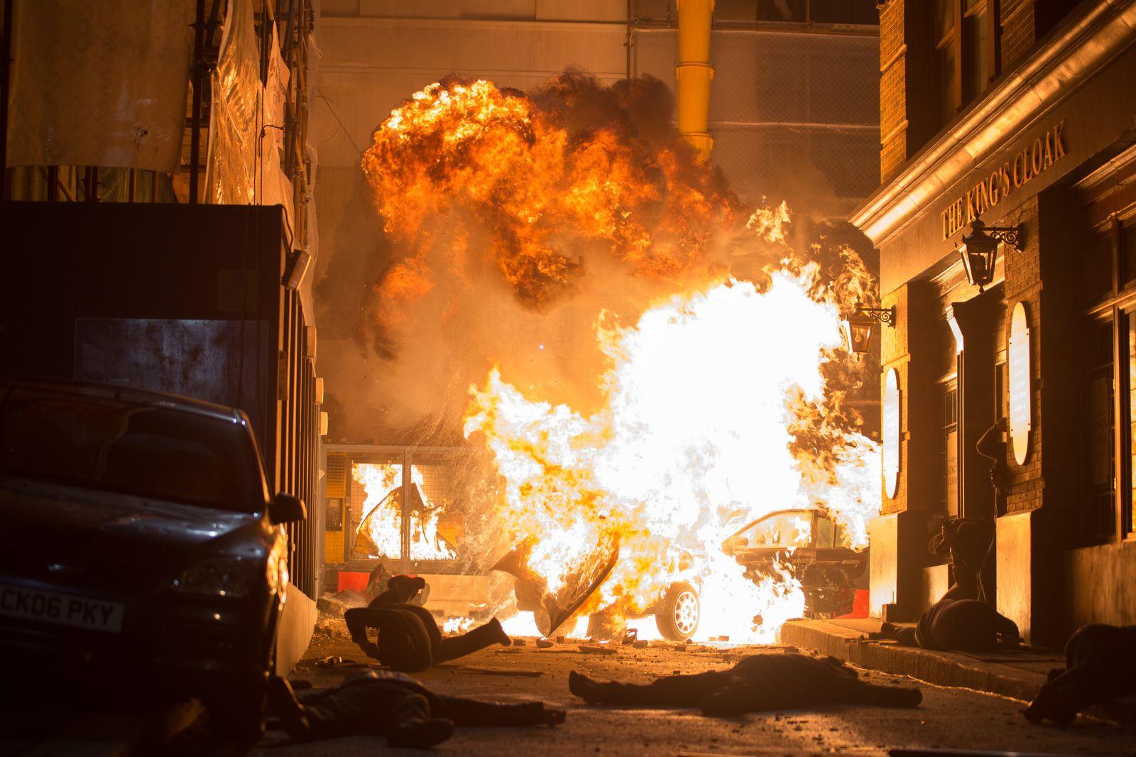 Film Londýn v plameňoch (2016)