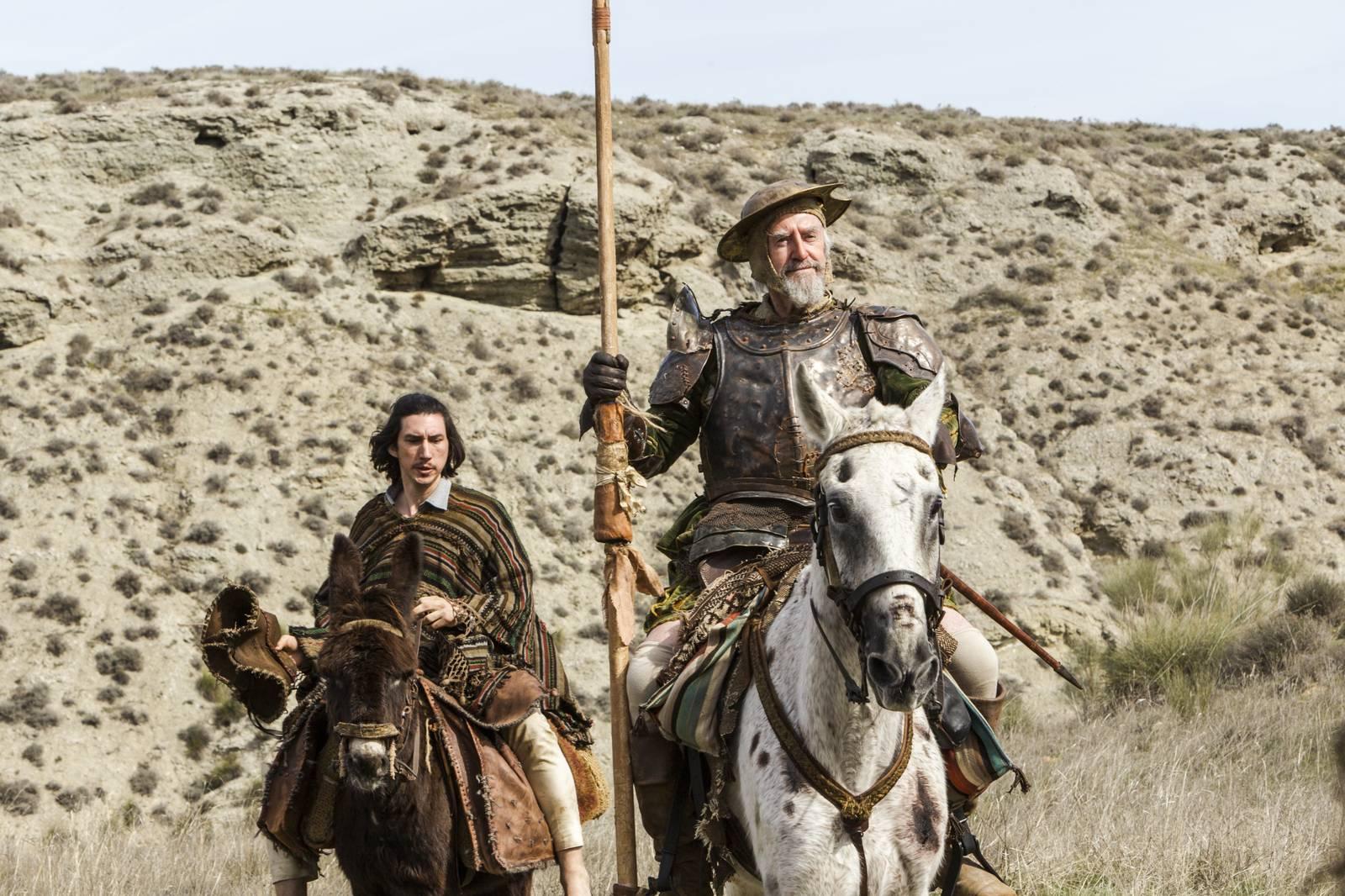 Film Muž, ktorý zabil Dona Quijota (2018)