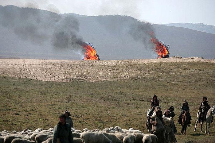 Film Mongol - Džingischán (2007)