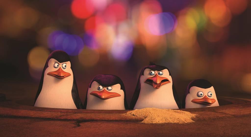 Film Tučniaky z Madagascaru (2014)