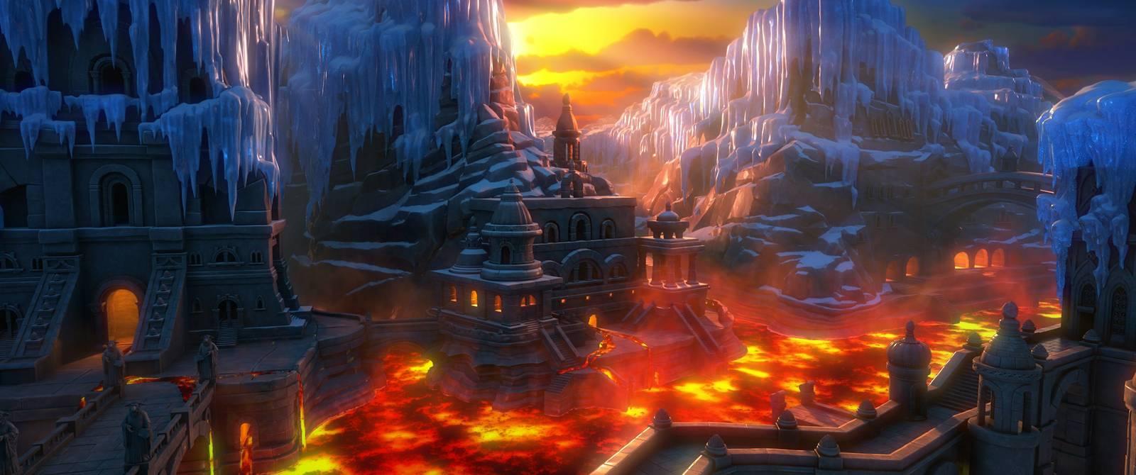 Film Snehová kráľovná 3: Tajomstvo ohňa a vody (2016)