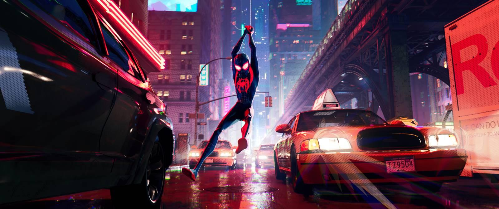 Film Spider-Man: Paralelné svety (2018)