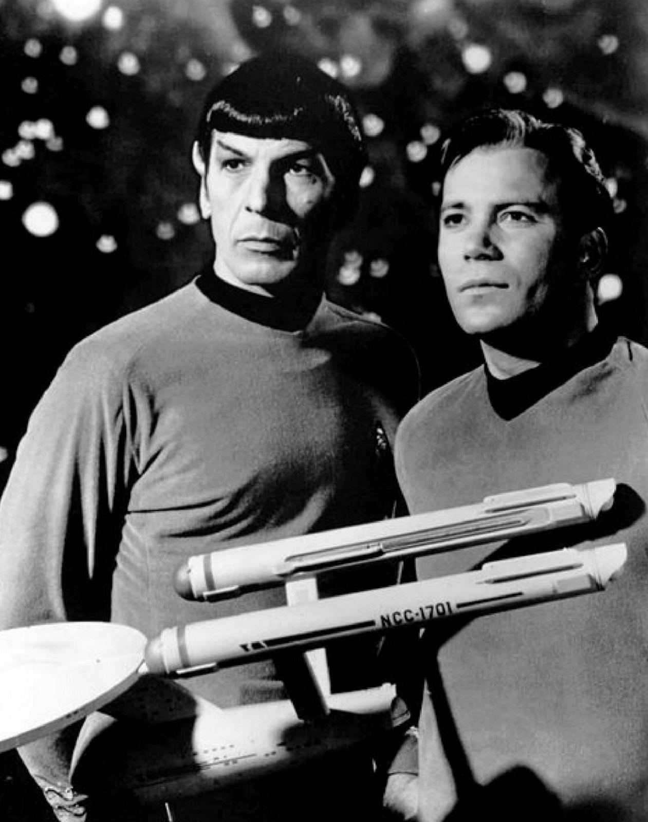 Leonard Nimoy v seriáli Star Trek (1966)