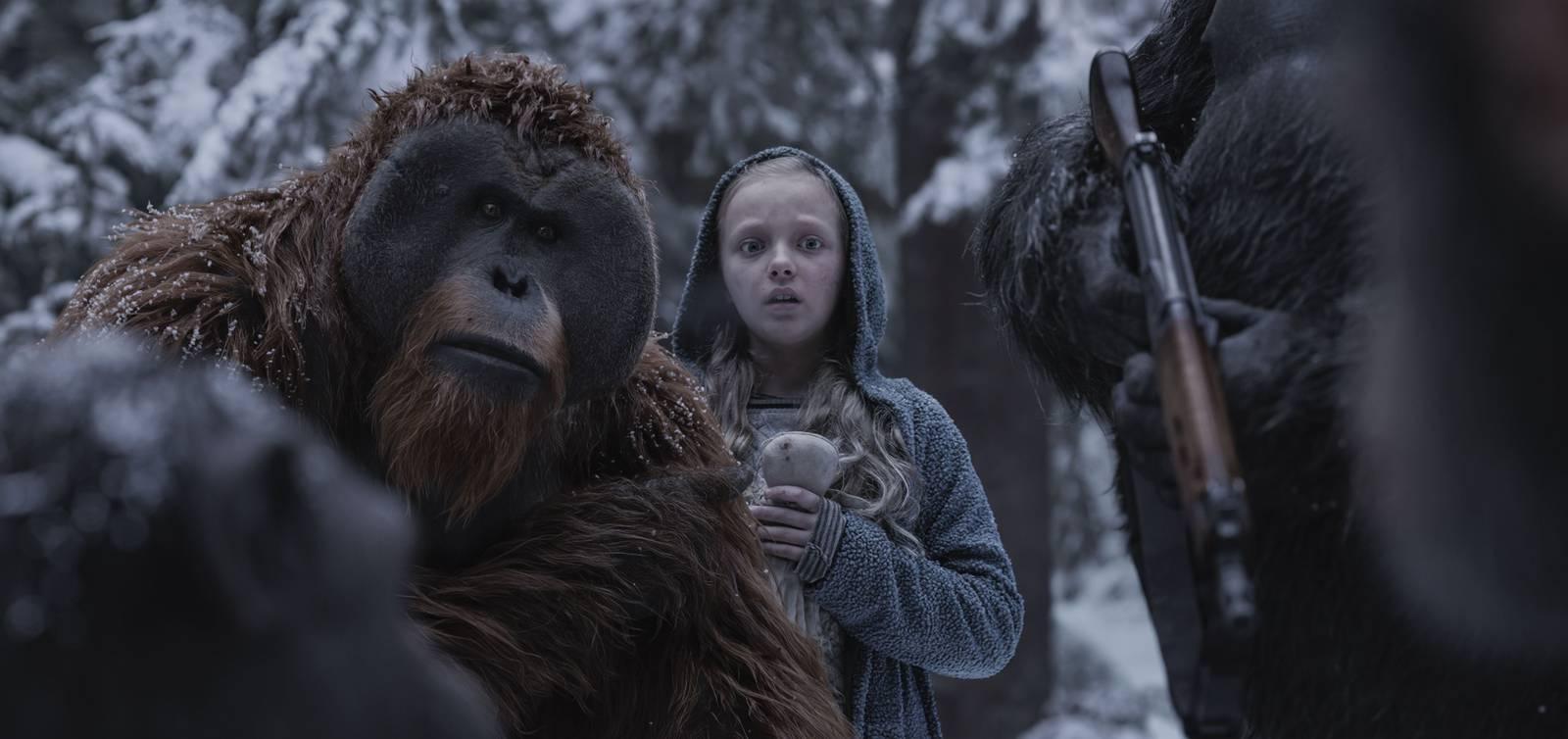 Film Vojna o planétu opíc (2017)