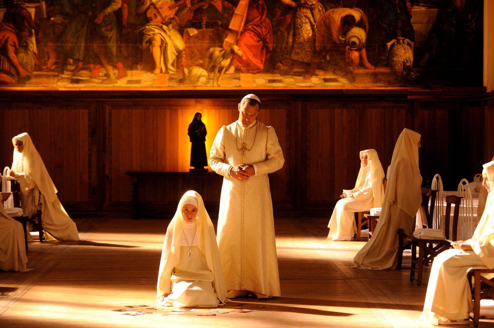 Fotogaléria Mladý pápež (2016)
