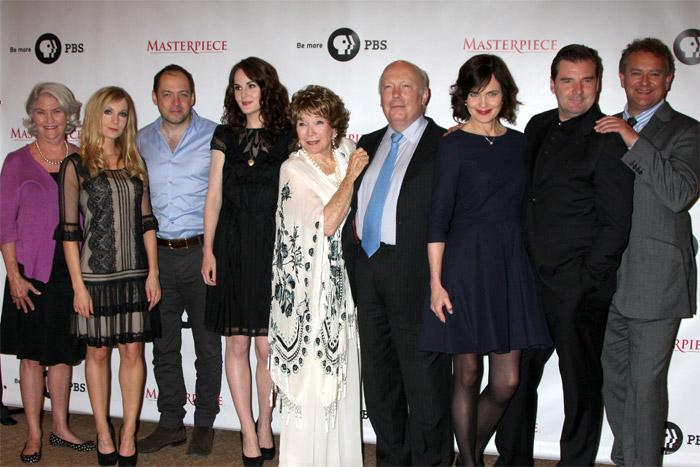Herci zo seriálu Panstvo Downton