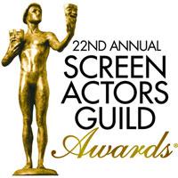 Nominácie na 22. ročník udeľovania cien SAG Awards