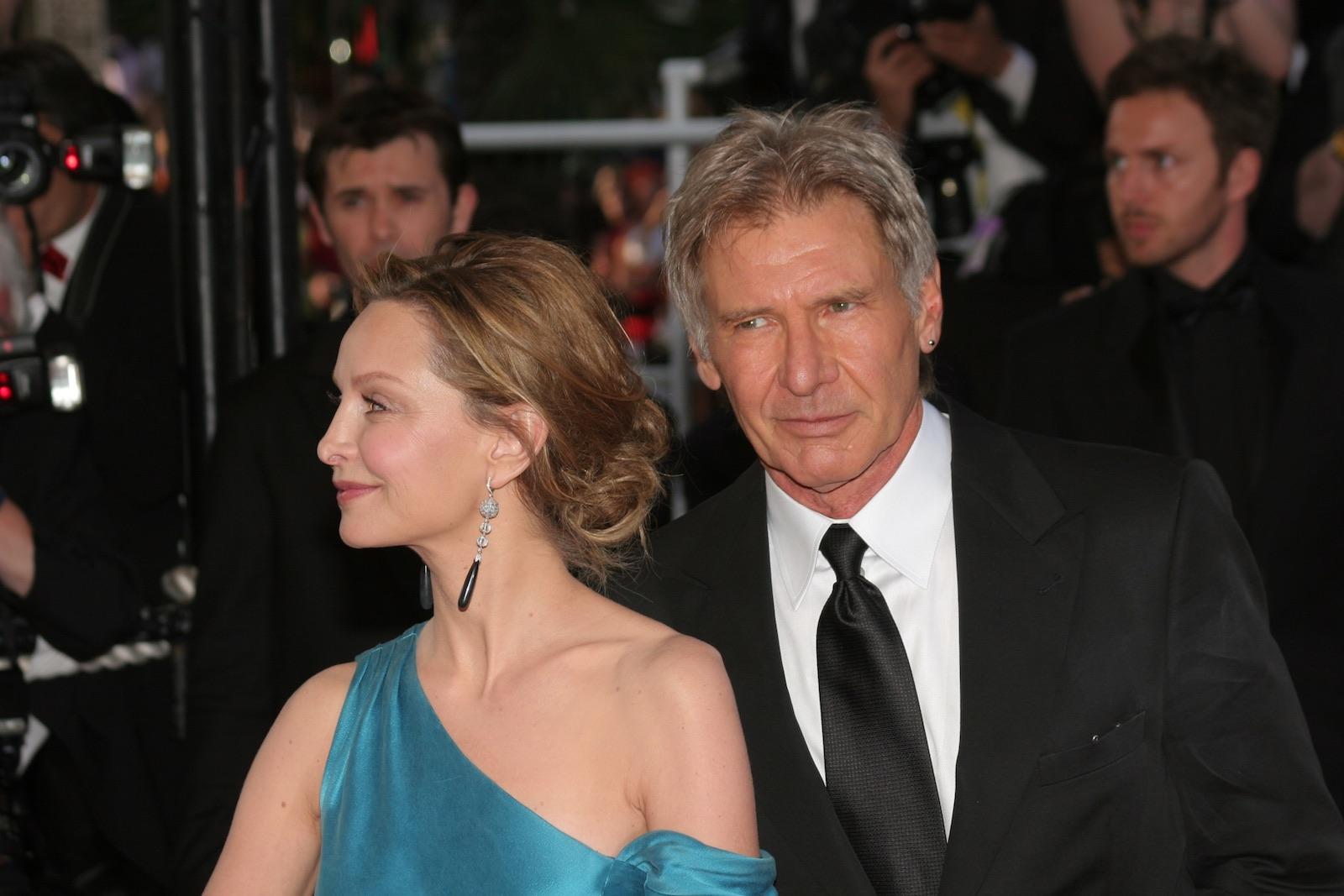 Harrison Ford s manželkou Calistou Flockhard (2008)