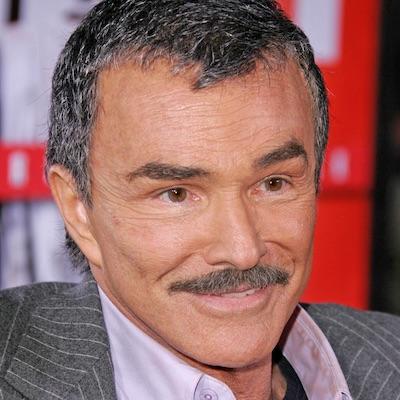 Idol žien Burt Reynolds