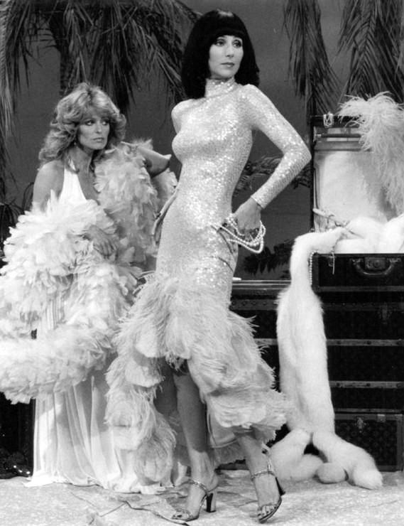 Farrah Fawcett s Cher (Sonny & Cher Comedy Hour, 1976)