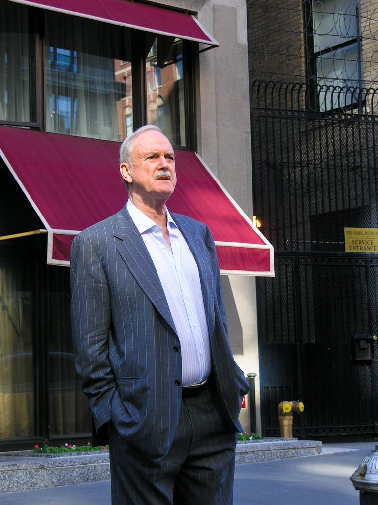 John Cleese v roku 2008