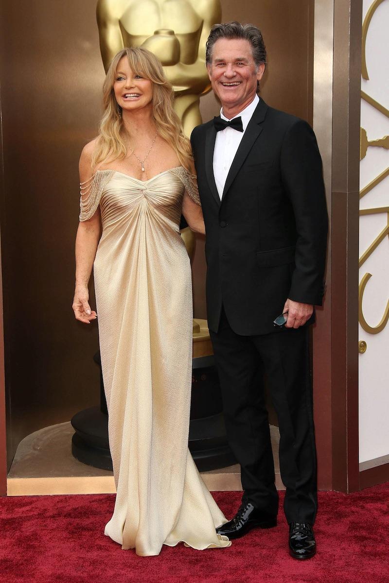 Kurt Russell s dlhoročnou životnou partnerkou Goldie Hawn