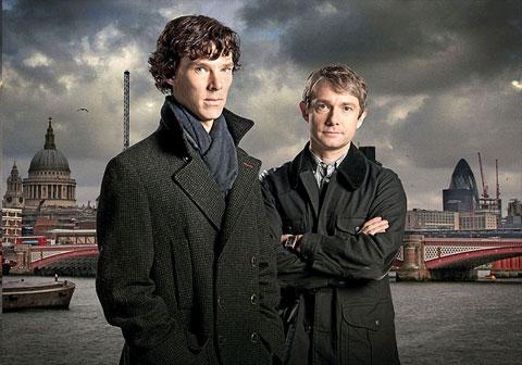 Martin Freeman v seriáli Sherlock Holmes (2011)